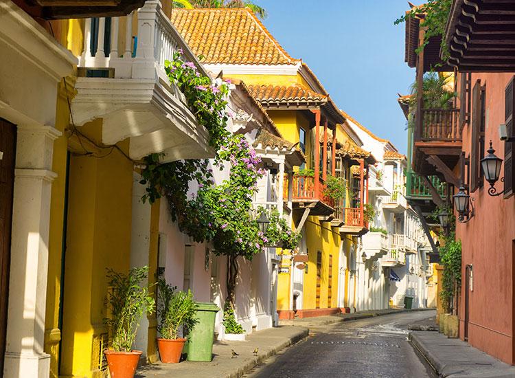 Enjoying Colombia Sacramento, Uruguay Hotels and Restaurants
